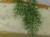 Flan homard crème d'estragon