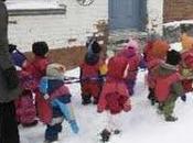 Montréal, enfants faim.