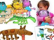 Aminal dolls inspirés l'imagination enfants