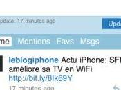 vraie version iPhone pour Twitter