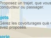 Comuto trouver/proposer covoiturage depuis l'iPhone