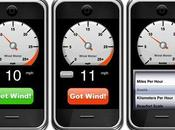 iPhone réinvente l'anémomètre