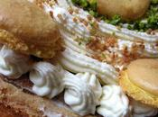 Délice framboises/amande macarons