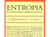 Entropia L'effondrement, après Collectif