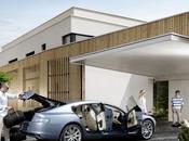 Aston Martin Rapide l'intérieur.