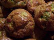 Muffins brocoli jambon