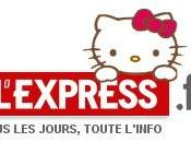 L'Express Article Hello kitty