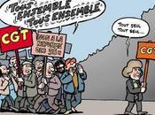 Bernard Thibault réelu tête CGT...Sarkozy être content