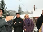 Visite quartier Monts sous neige