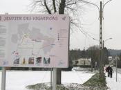 Thionville: marche sous neige Beauregard Crève-coeur