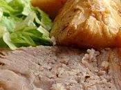 PLAT COMPLET Cochon lait fruits