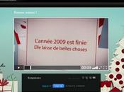 Animez voeux 2010 avec Animoto, c'est simple