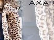 Manteau fausse fourrure leopard Axara