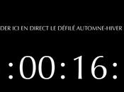 défilés direct Paris Internet Dior Homme