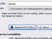 SpeedyFox optimise votre Firefox