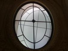 vitraux décalés François Morellet Louvre