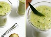 Smoothie ananas, gingembre persil