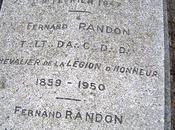 tombe Compagnon Randon cimetière Tours-La Salle (37)