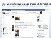 nouvelle page d'accueil Facebook, premier contre
