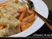 Veau salsifis carottes
