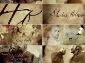 générique calligraphique Sherlock Holmes