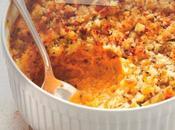 Crumble carottes parfumées coriandre cumin