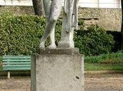 Statues Jardin Thabor Rennes