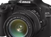 Canon 550D Rebel T2i), entre 500D