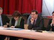 """Régionales 2010 Alsace Martine AUBRY, Jacques BIGOT Antoine HOME rencontre """"salariés désemparés"""""""