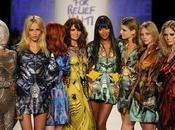 mode Naomi Campbell mobilise pour Haïti lors défilé Fashion Relief York Londres