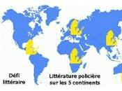 Défi littéraire 2010 Littérature policière continents