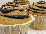 Muffins spéculoos spirales chocolatées.