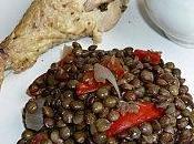 Lentilles poivrons