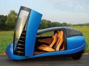 Antro Voiture électronique divise deux petites voitures