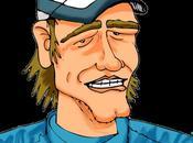Caricature Sébastien Loeb