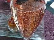Champagne fleurs d'Hibiscus Bissap