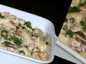Gnocchi topinambour sauce pleurotes