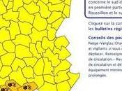 "Alerte orange ""neige verglas"" Météo-France Corse dernier bulletin d'alerte 13h30"
