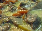 Blanquette veau safranée citron confit