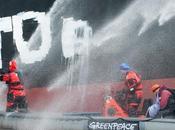 Exportations déchets nucléaires Greenpeace déclenche deuxième phase dans port Montoir-de-Bretagne