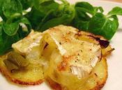 Galettes Pommes Terre Poireaux Camembert