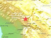 séisme faible profondeur magnitude moyenne, 4.7, frappe l'Iran Méridional. dégâts craindre.