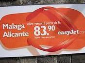 Marketing tourisme nouvelle campagne d'affichage Easyjet. [Flickr]
