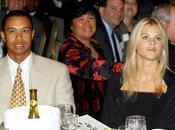 Tiger Woods retour avec femme enfants