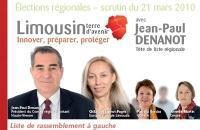 Jean-Paul Denanot Front gauche refusé contrat solidarité gestion
