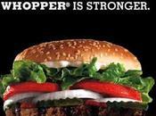Burger King face Whooper