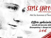 """Flyer """"Style Coiffure"""" nouvel agencement."""