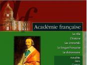 Lettres l'Académie française, Christophe Carlier