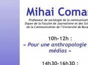 Conférences Mihai Coman sera Corte vendredi.