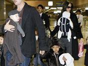 Angelina Jolie Elle présente enfants ceux Johnny Depp